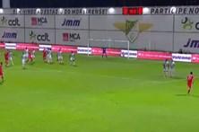 Benfica vence em Moreira de Cónegos por 0-1
