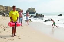 Praias ainda não estão seguras, apesar do calor