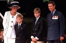 Príncipes recordam dia em que souberam da morte de Diana