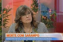Morte com Sarampo