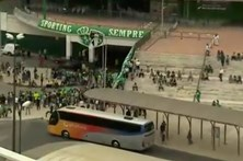 Conheça o percurso da chegada dos adeptos do Sporting a Alvalade
