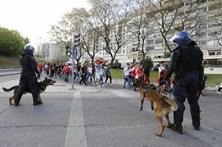 Dérbi de alto risco motiva grande ação policial