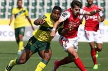 Braga derrapa frente ao Paços de Ferreira
