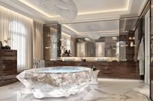 Banheira no Dubai custa um milhão de euros