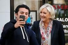 Candidatos à Presidência de França após a vitória da primeira volta