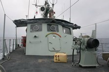 Marinha deteta fardo de 38 quilos de haxixe a flutuarno Algarve