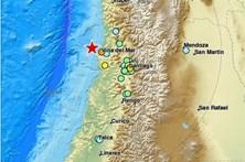 Sismo de magnitude 7,1 no Chile