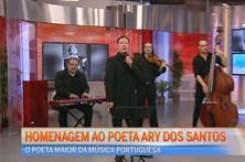 Homenagem ao poeta Ary dos Santos