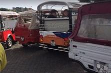 Engarrafamento de 'Tuk-Tuk' em Lisboa