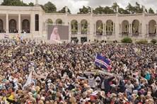 Língua gestual na visita do Papa