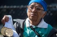Idosa de 101 anos ganha ouro nos 100 metros