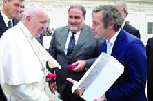 Portugueses dominam audiência geral do Papa