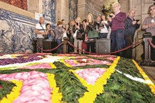 Tapetes de flores levam milhares até às Cruzes