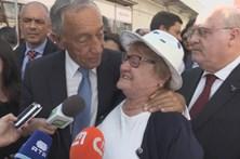 """Marcelo recebido por """"mar de gente"""" na Ovibeja"""