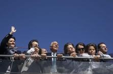 Marcelo voltou ao Tejo, desta vez de barco, com Cristas sempre por perto