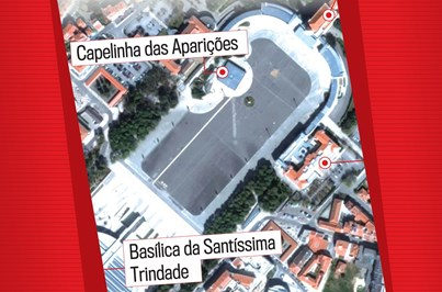 Veja onde vai ficar o Papa em Fátima