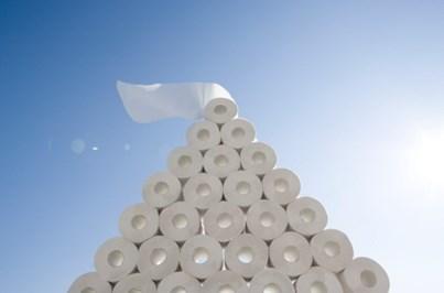 Roubados 1500 rolos de papel higiénico