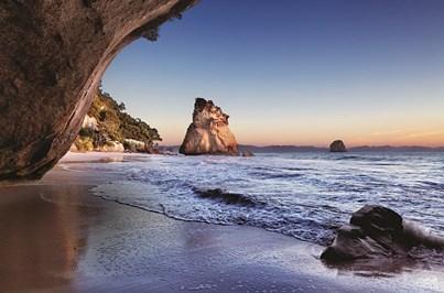 As praias de água quente e as florestas luxuriantes de Coromandel