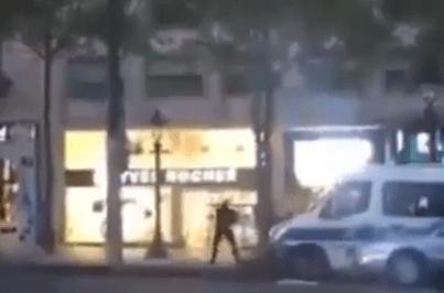 Veja as primeiras imagens do ataque terrorista em Paris
