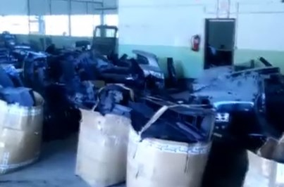 Cinco milhões em peças de 300 carros