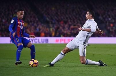 Neymar fora do clássico deste domingo entre FC Barcelona e Real Madrid
