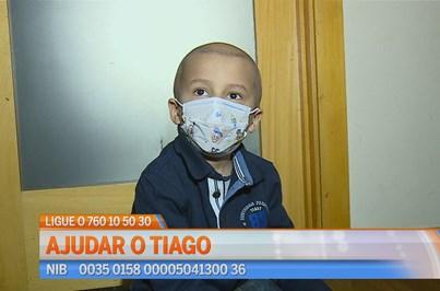 Vamos ajudar o Tiago