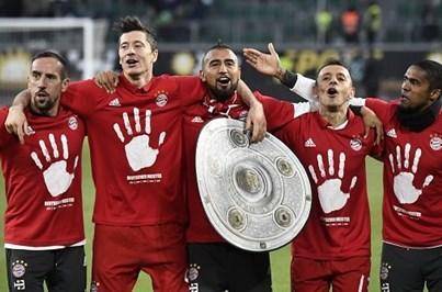 Bayern Munique campeão alemão pelo quinto ano consecutivo