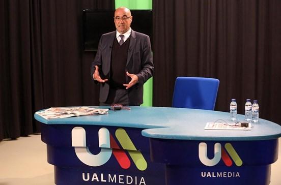Jornalismo Televisivo com a UAL e a CMTV