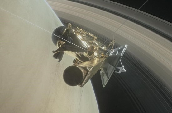 Sonda Cassini deteta moléculas de hidrogénio numa das luas de Saturno