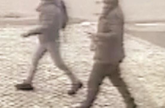 Fotogramas revelados pelo CM tramam homicidas de idosa