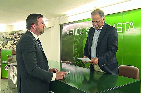 António Parada deixa PS no dia 1 de Luísa Salgueiro