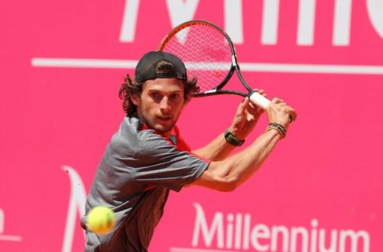 Pedro Sousa na segunda ronda do 'qualifying' de Wimbledon