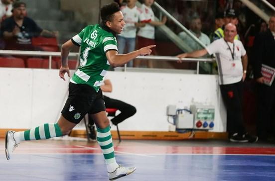 Sporting vence campeão europeu e está na final da UEFA Futsal Cup