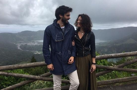 Vítor Silva Costa e Mariana Pacheco namoram nos Açores