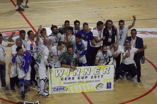 Óquei de Barcelos conquista Taça da CERS pela terceira vez