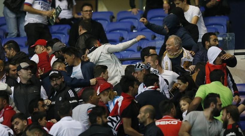 Besiktas anuncia recurso de decisão da UEFA