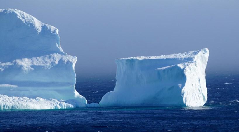 Horas de espera para visitar icebergue no Canadá