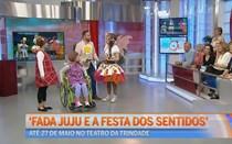 'Fada Juju e a festa dos sentidos'