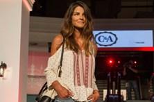 Luísa Beirão desfila após violência doméstica