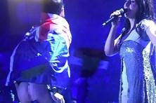 Invade o palco e baixa as calças em direto na Eurovisão