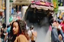 Novo vídeo revela violência do atropelamento em Nova Iorque