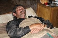 Desempregado ferido recupera em estábulo