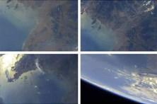Míssil norte-coreano revela fotografias da Terra