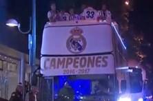 Real Madrid festeja 33º título da história