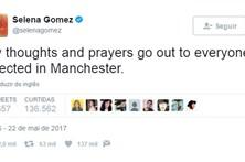 Celebridades solidárias com vítimas de ataque em concerto de Ariana em Manchester