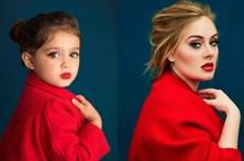Menina de 3 anos faz sucesso a imitar celebridades