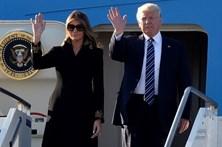 Trump chega a Roma para ver o papa