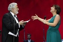 Reveja os melhores momentos do concerto de Placido Domingo