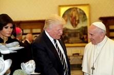 Papa e Trump reuniram-se em privado durante 27 minutos