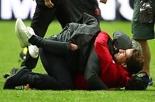 Mourinho e filho celebram vitória na Liga Europa